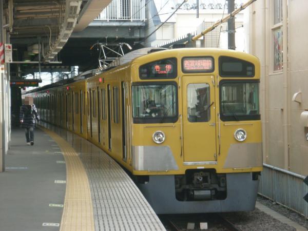 2013-12-08 西武2087F 各停西武球場前行き2