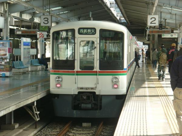 2013-12-08 西武4007F 各停西武秩父行き