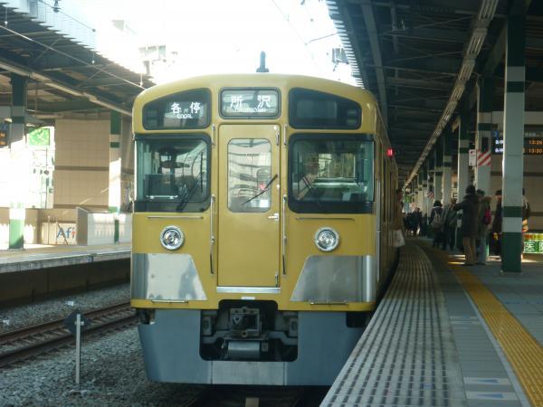 2013-12-14 西武2083F 各停所沢行き2