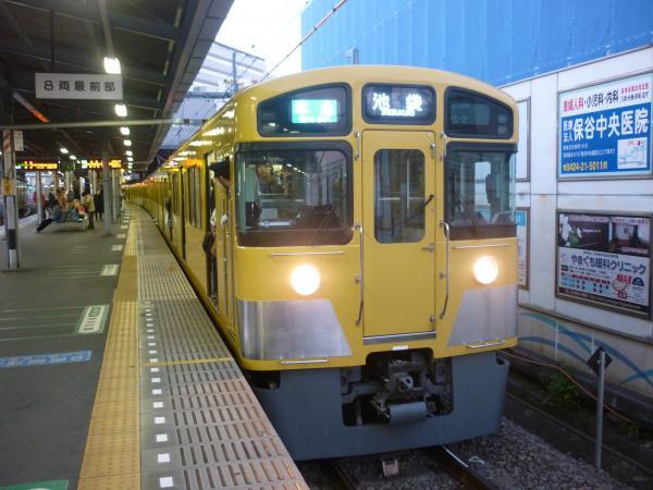 2013-12-14 西武2089F 準急池袋行き