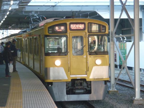 2013-12-14 西武2097F 各停西武球場前行き1
