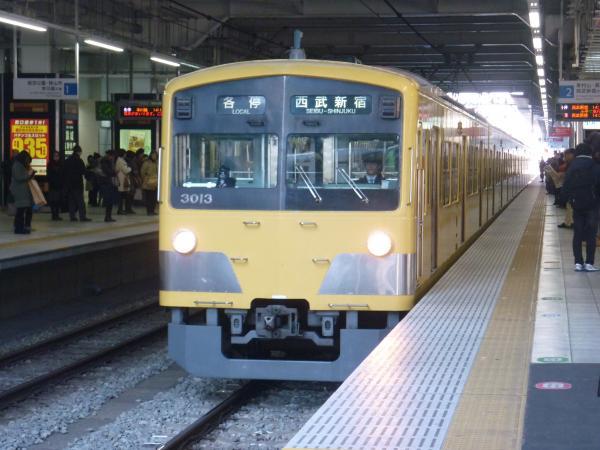 2013-12-14 西武3013F 各停西武新宿行き1