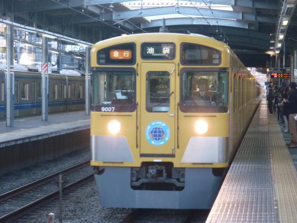 2013-12-14 西武9107F 急行池袋行き