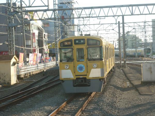 2013-12-14 西武9107F 急行飯能行き4