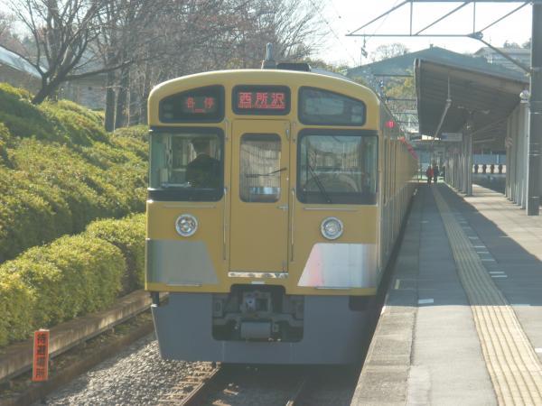 2013-12-15 西武2085F 各停西所沢行き1