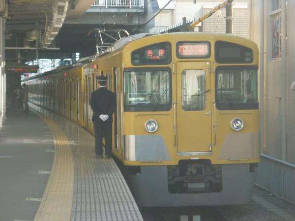 2013-12-15 西武2085F 各停西武球場前行き2