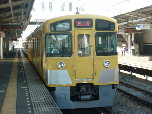 2013-12-15 西武2533F 回送2
