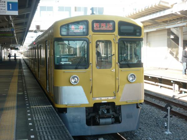 2013-12-15 西武2533F 各停西所沢行き2