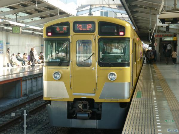 2013-12-22 西武2097F 各停池袋行き2