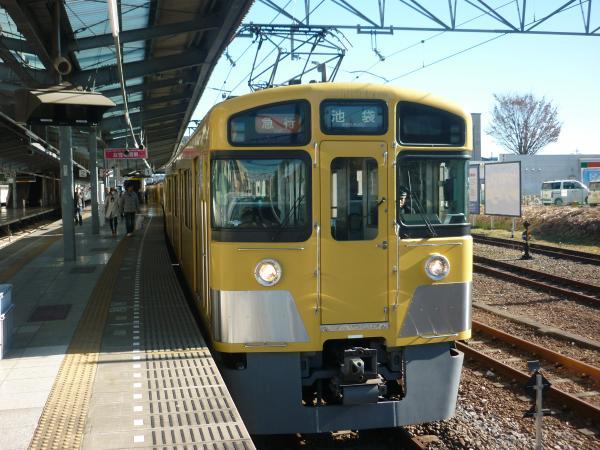 2013-12-22 西武2457F+2089F 急行池袋行き2