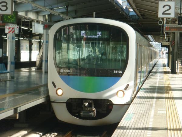 2013-12-22 西武38105F 回送