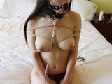 巨乳パイパン美少女 調教ヌード画像 6