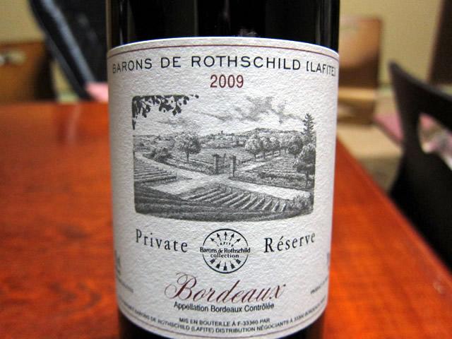 Barons De Rothschild [Lafite] 2009