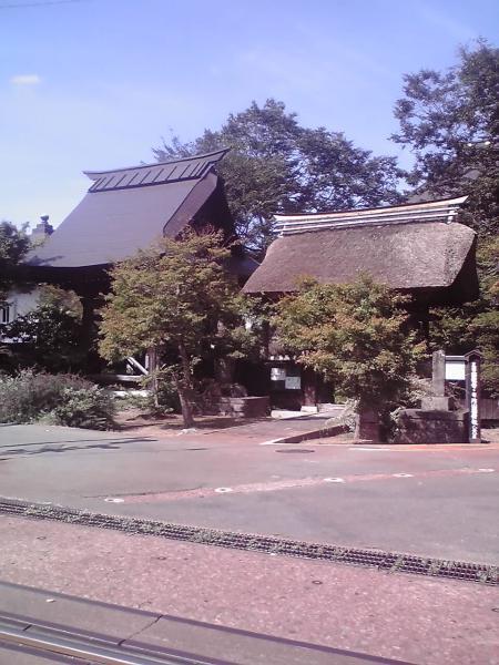 西敬寺前景