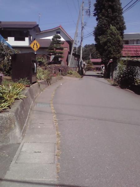 正受庵への道程1
