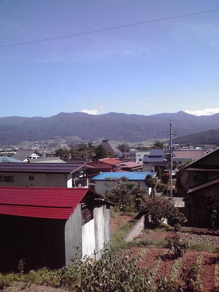 飯山、山野遠景1