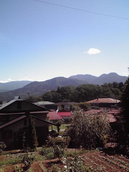 飯山、山野遠景2