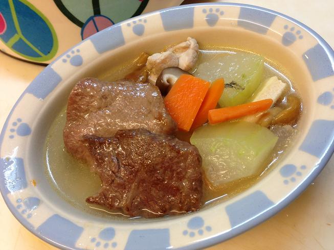 冬瓜スープ(犬ごはん)