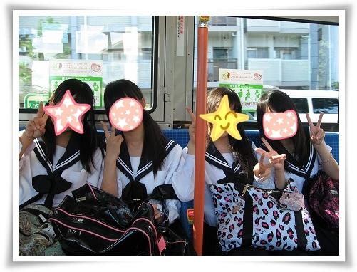 京都市内バス移動