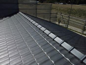 屋根完成2