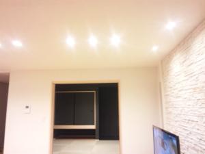 一階LDK照明
