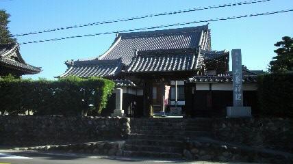 弥富の14番大悲院の山門