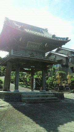 6番札所法華寺の山門
