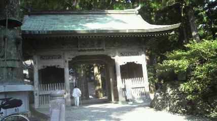 12番焼山寺山門