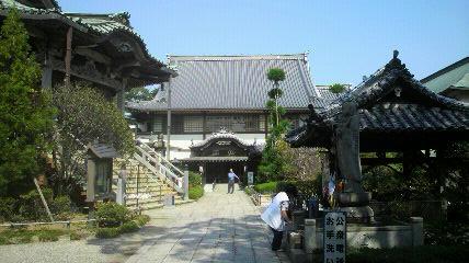 18番恩山寺の境内