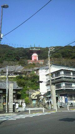 23番札所薬王寺の眺め