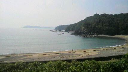 牟岐の海岸線