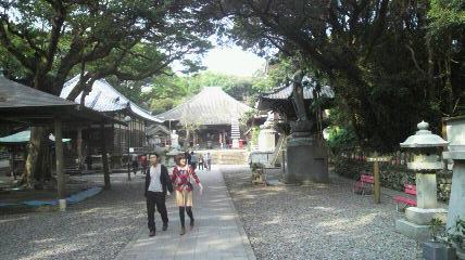 (24番札所)最御崎寺の境内