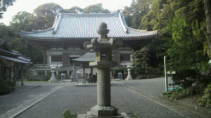 (26番札所)金剛頂寺の本堂