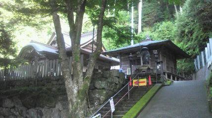 神峰寺台風の爪痕