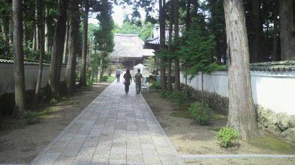 (29番札所)国分寺の参道