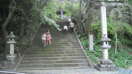 31番札所竹林寺の参道