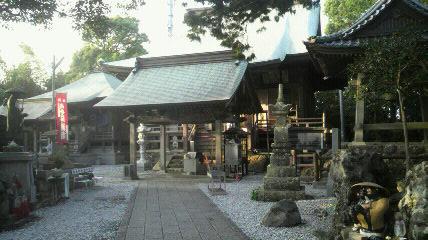 32番札所)禅師峰寺の境内