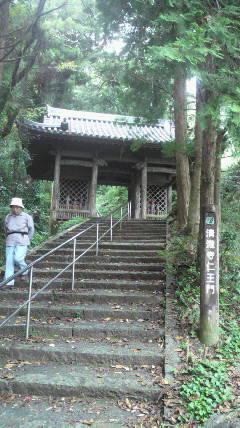 35番札所清瀧寺の仁王門