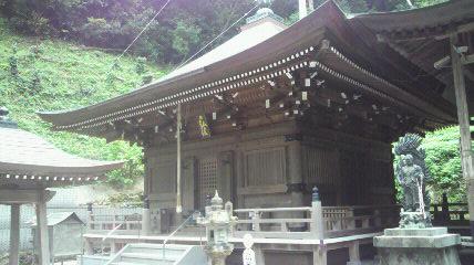 36番札所青龍寺の大師堂