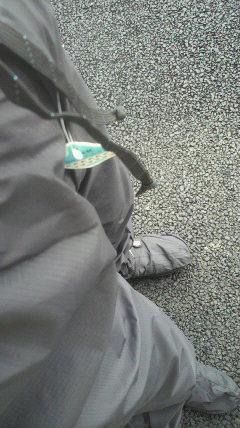 雨具のタグ
