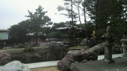 金剛福寺の庭