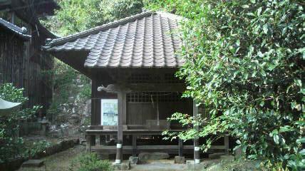 月山神社の大師堂