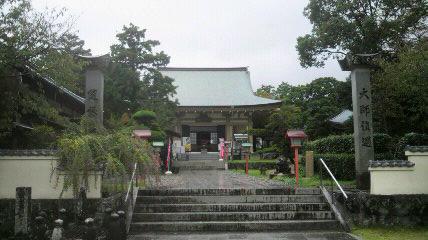 40番札所観自在寺の境内
