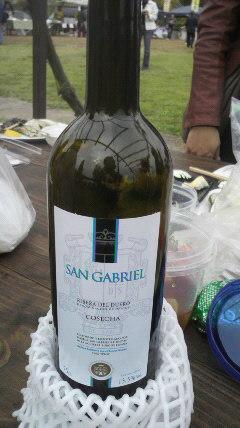追加ワインのボトル買い
