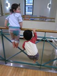 2歳児2人