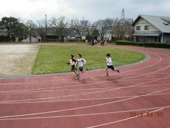 100メートル走