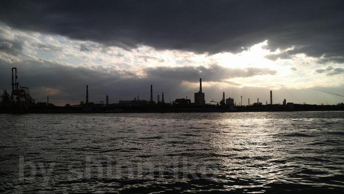 扇島の工場