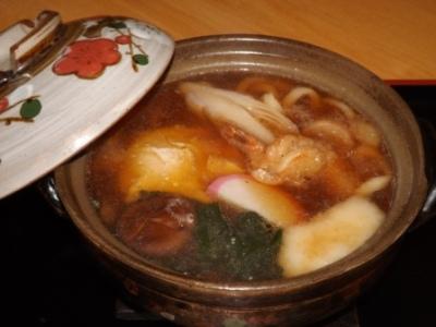 鍋焼きうどん (3)