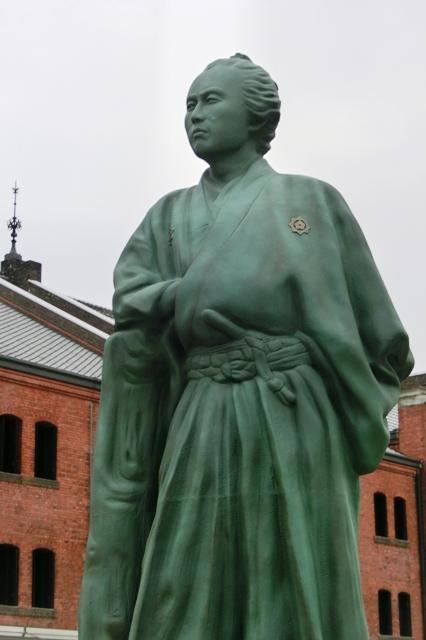 坂本竜馬像