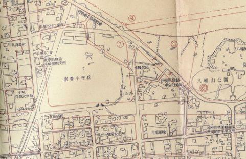 都市復興計画図